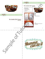 Reusable Dish and Bowl Covers Sewing Pattern - MammaCanDoIt - Sewing Pattern - 6