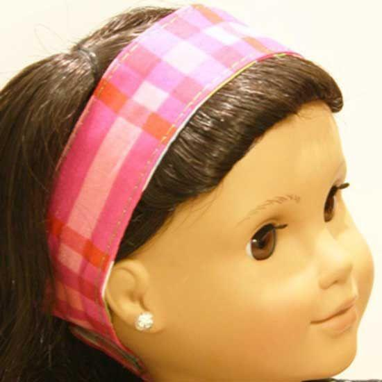 American Girl Headband Sewing Pattern
