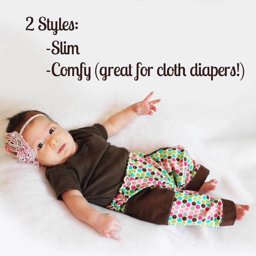 Baby Pants Pattern - MammaCanDoIt - Sewing Pattern - 5