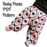Baby Pants Pattern - MammaCanDoIt - Sewing Pattern - 1