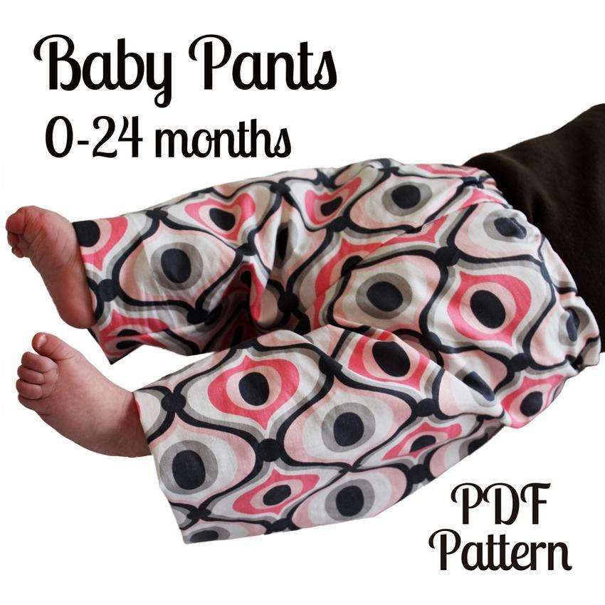 Baby Pants Pattern - MammaCanDoIt - Sewing Pattern - 3