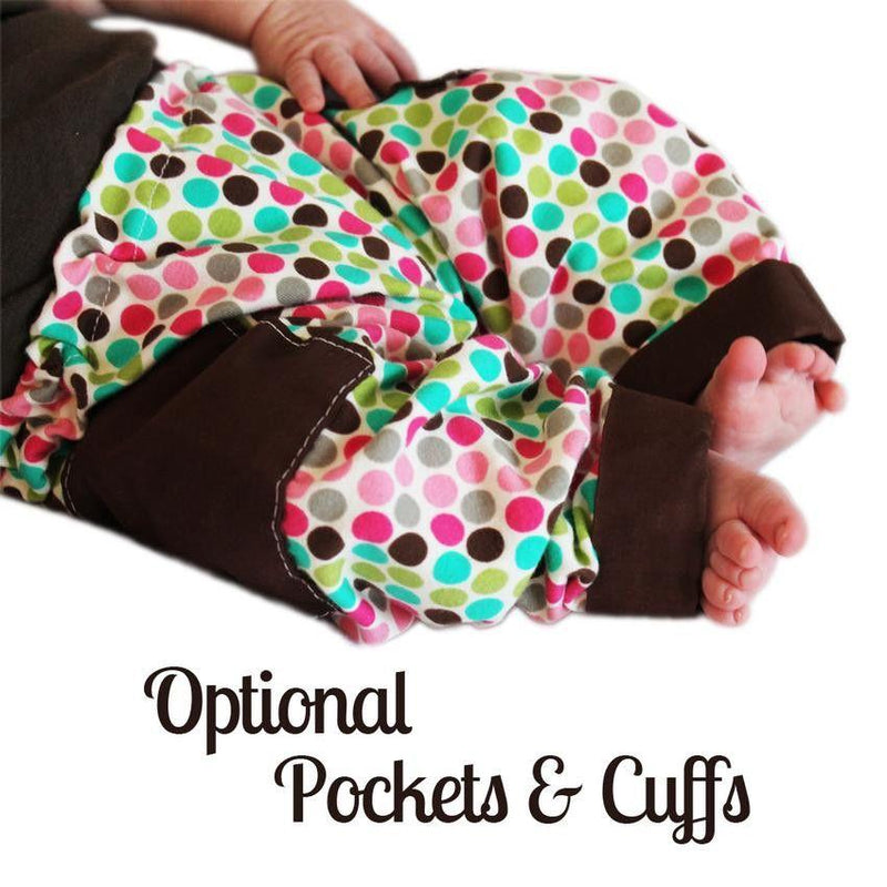MammaCanDoIt Sewing Pattern Baby Pants Pattern