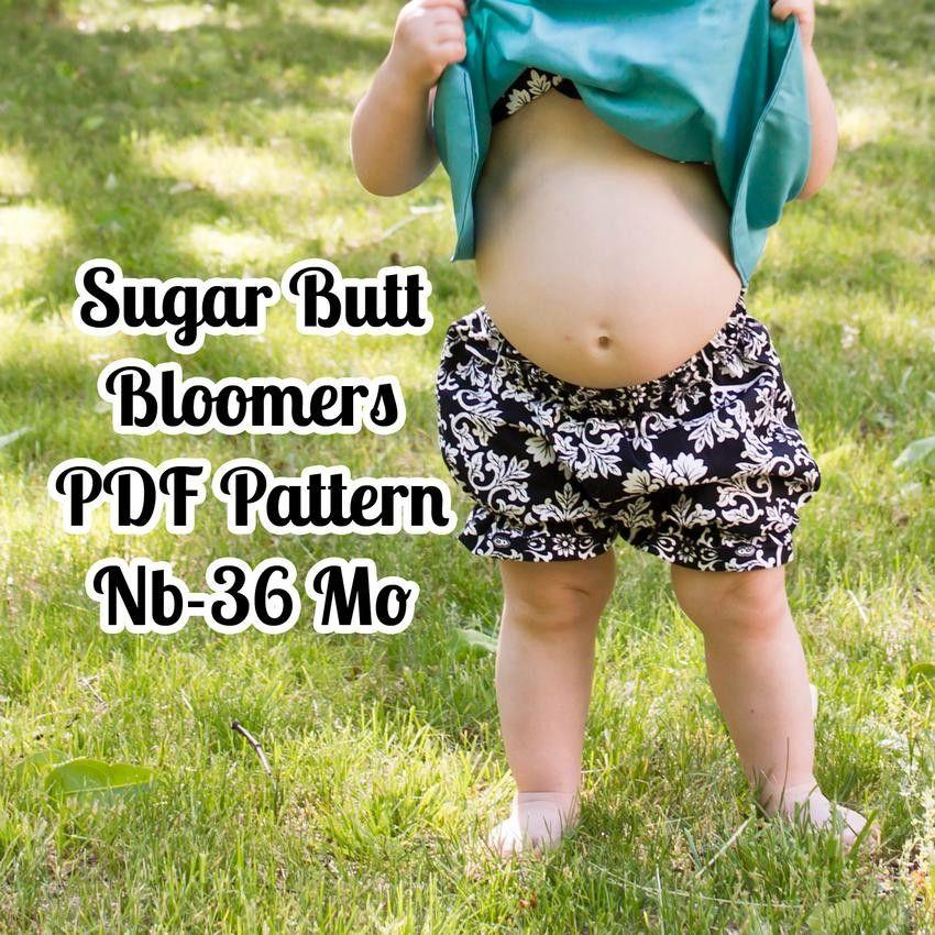 Baby Bloomers Pattern - MammaCanDoIt - Sewing Pattern - 1