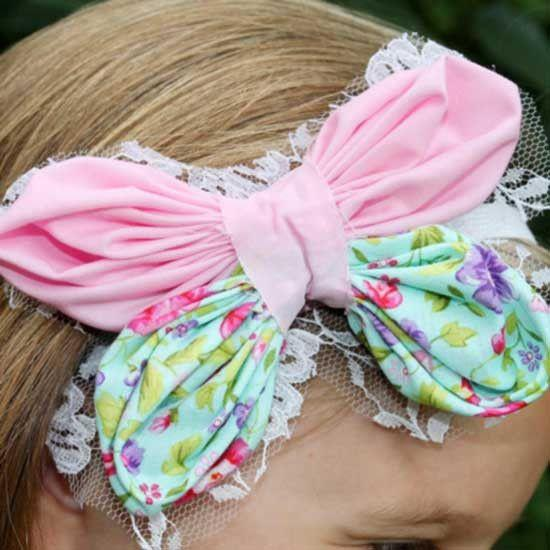 Butterfly Flower Hair bow