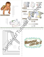aio cloth diaper pattern sample
