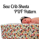Crib & Toddler Bed Sheet Pattern - MammaCanDoIt - Sewing Pattern - 4