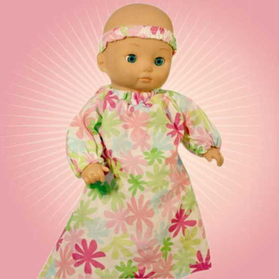 MammaCanDoIt Sewing Pattern Baby Doll Dress Sewing Pattern