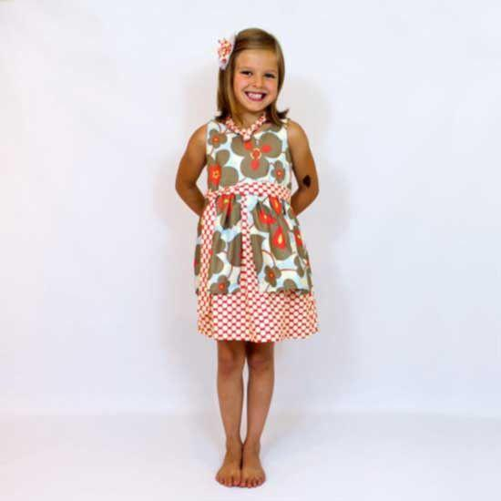 MammaCanDoIt Sewing Pattern Girls Dress Sewing Pattern & Tutorial