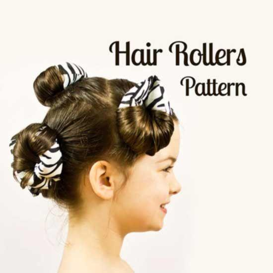 Hair roller pattern - MammaCanDoIt - Sewing Pattern - 1
