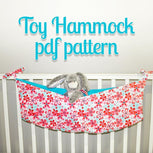 Toy Hammock Pattern - MammaCanDoIt - Sewing Pattern - 3