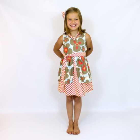 Girl Dress Pattern - MammaCanDoIt - Sewing Pattern - 4