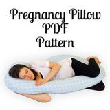 Pregnancy Pillow Pattern - MammaCanDoIt - Sewing Pattern - 9