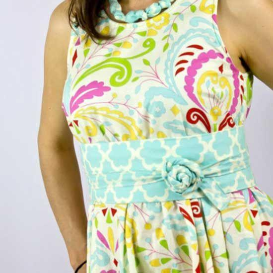 MammaCanDoIt Sewing Pattern Wide Wrap Belt Pattern