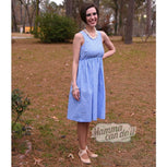 Ladies Full Skirt Dress Sewing Pattern