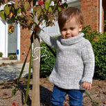 Cowl Neck Pullover Pattern | Nb-36 Months