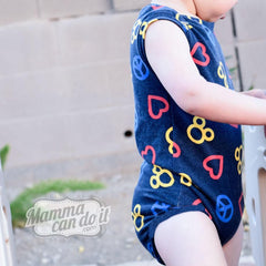 MammaCanDoIt Sewing Pattern Onesie Sewing Pattern | NB-36 Months