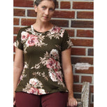 Relaxed Peplum Top | Women's Sizes 00-20