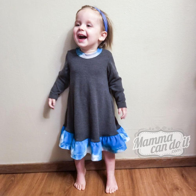 MammaCanDoIt Sewing Pattern The Adalynn Dress Pattern |  Nb-24 months