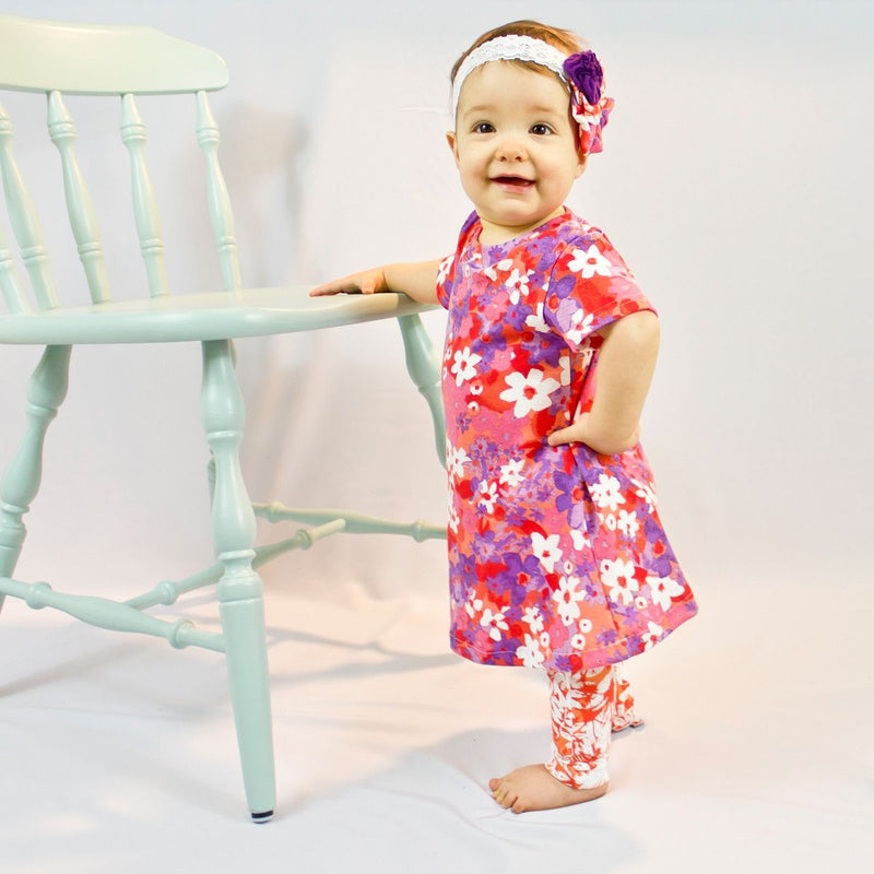 MammaCanDoIt Sewing Pattern Retired - A line Baby Dress Sewing Pattern