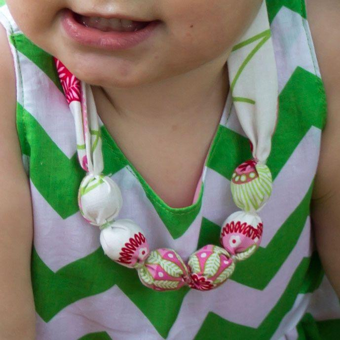 fabric necklace pattern