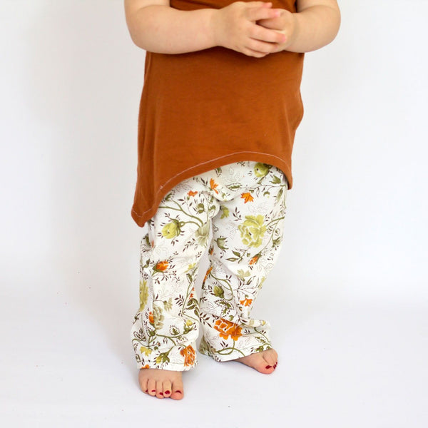 Baby Toddler Bell Bottom Pants Sewing Pattern Mammacandoit