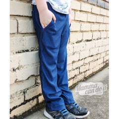 MammaCanDoIt Sewing Pattern Fit Pants Pattern | Boy Sizes 2T-20