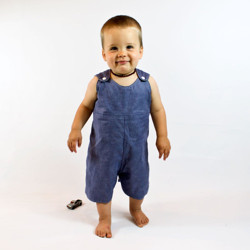 MammaCanDoIt Sewing Pattern Reversible Baby Romper Pattern