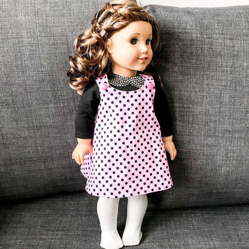 MammaCanDoIt Sewing Pattern Free Doll Jumper Pattern | Joyful Jumper