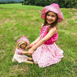 free doll sun hat pattern