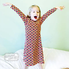 MammaCanDoIt Sewing Pattern Girl Nightgown Sweet Dreams Nightgown Sewing Pattern | Sizes 3T-16