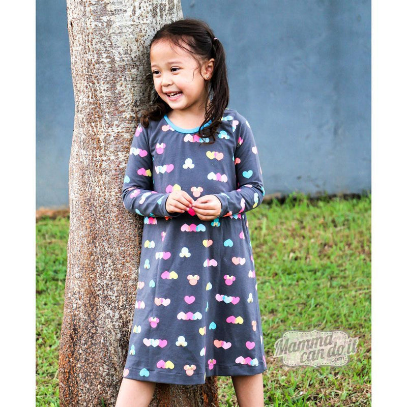 Sweet Dreams Nightgown Sewing Pattern | Sizes 3T-16