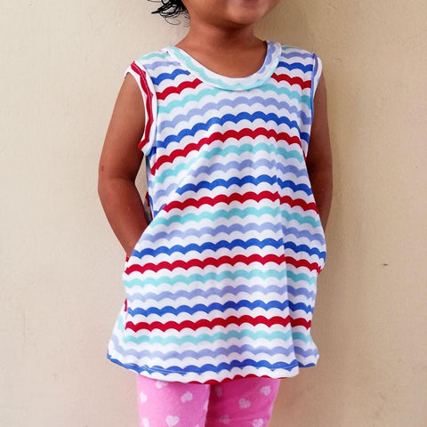 tank pattern for girls