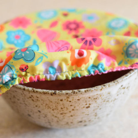 Reusable Dish and Bowl Covers Sewing Pattern