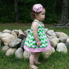 MammaCanDoIt Sewing Pattern Baby Dress Pattern  | The Sadie Dress