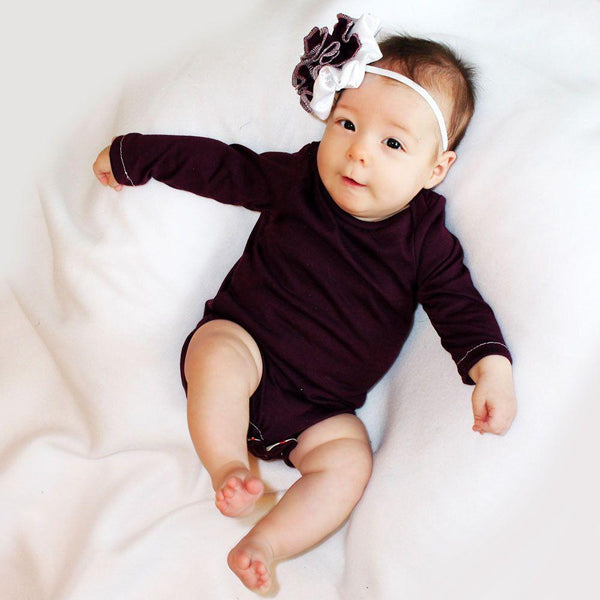 long sleeve onesie pattern