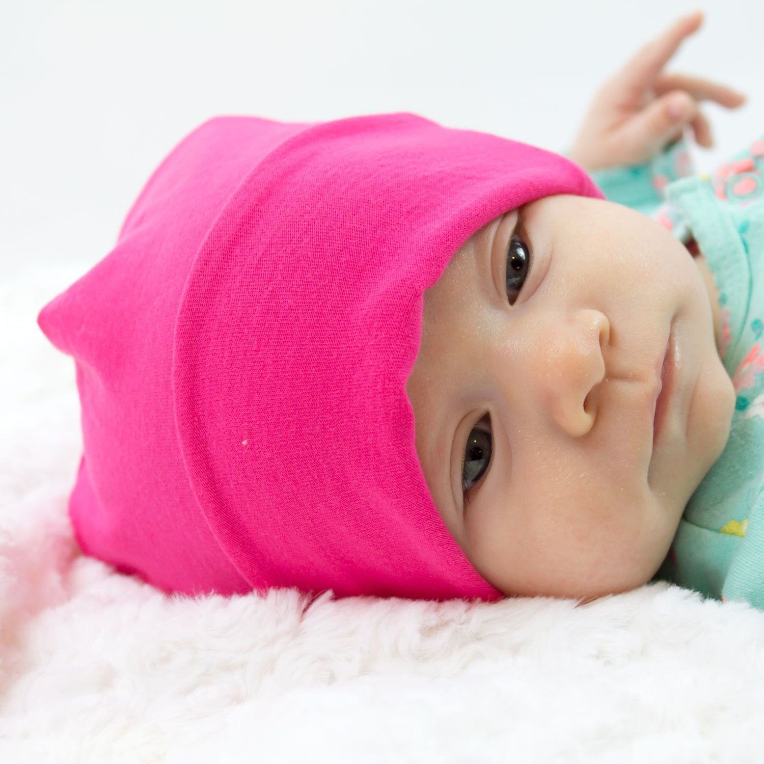 newborn knit hat pattern