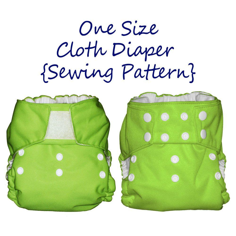 Diaper Sewing Pattern One Size Fits All Mammacandoit