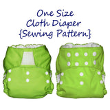 Diaper Sewing Pattern | One Size Fits All