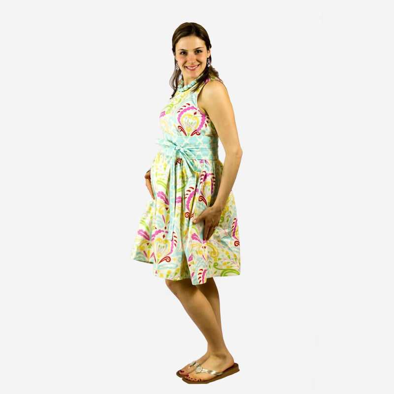 MammaCanDoIt Sewing Pattern Maternity Full Skirt Dress Sewing Pattern