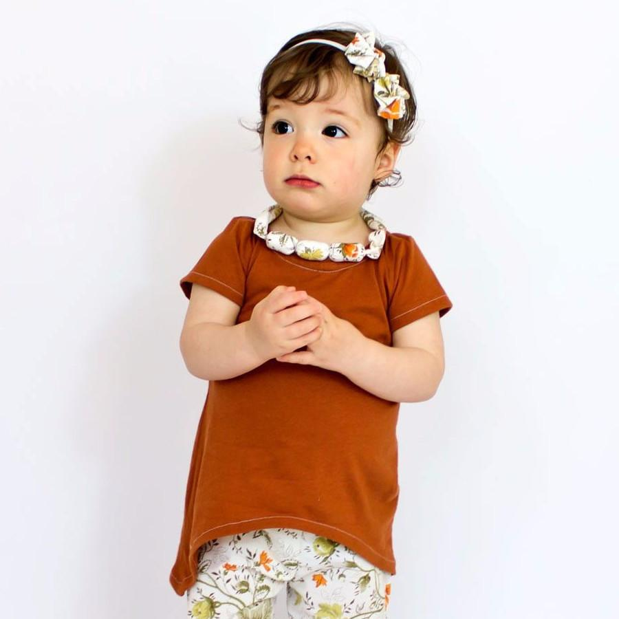 baby handkerchief shirt pattern