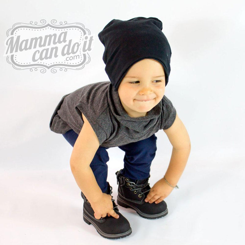 MammaCanDoIt Sewing Pattern Slouchy Beanie Hat Pattern | NB-Adult XXL