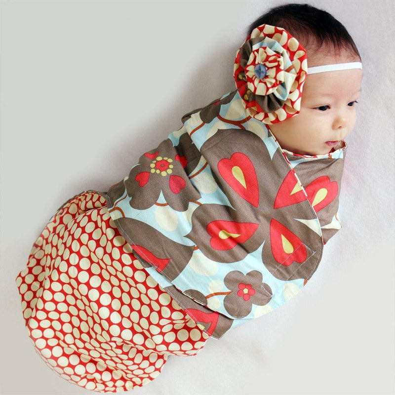 MammaCanDoIt Sewing Pattern Swaddling Blanket Pattern