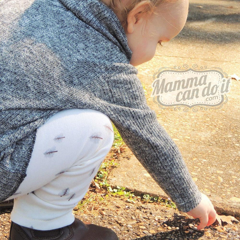 MammaCanDoIt Sewing Pattern Cowl Neck Pullover Pattern | Nb-36 Months