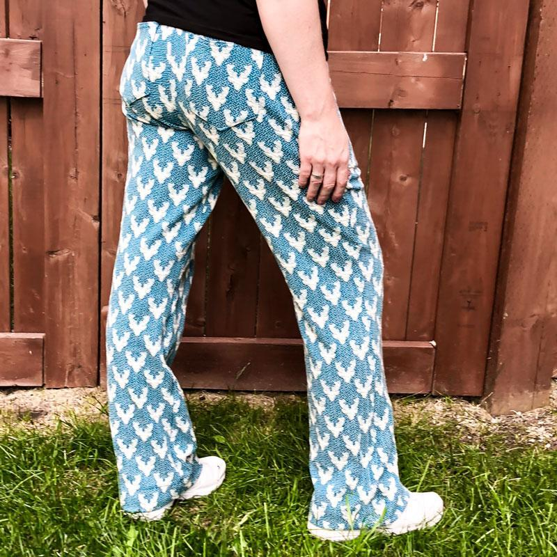 MammaCanDoIt Sewing Pattern Fit Pants Pattern | Women Sizes 00-20