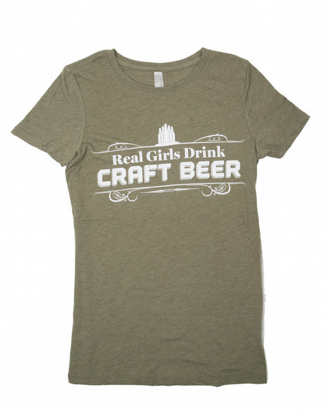 Real Girls Drink Craft Beer T-Shirt – Arkansas Times