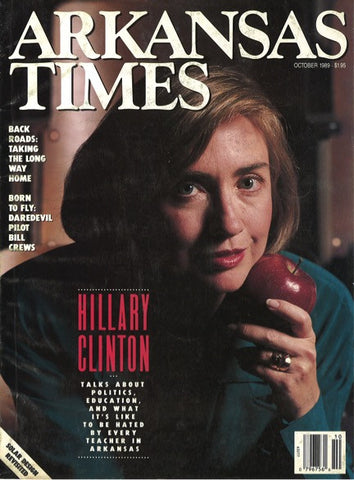 Arkansas Times October 1989: Hillary Clinton interview