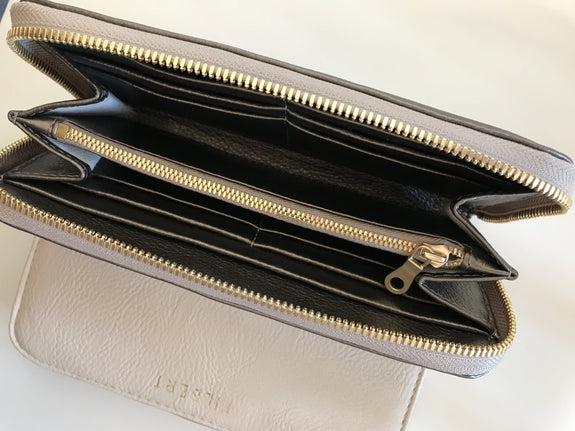 The Wallet in Metallic