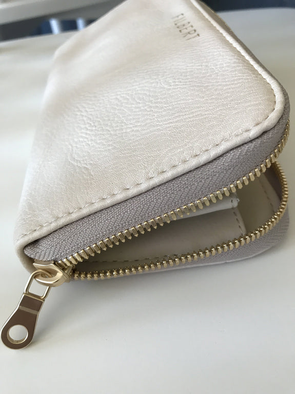 The Wallet in Cream
