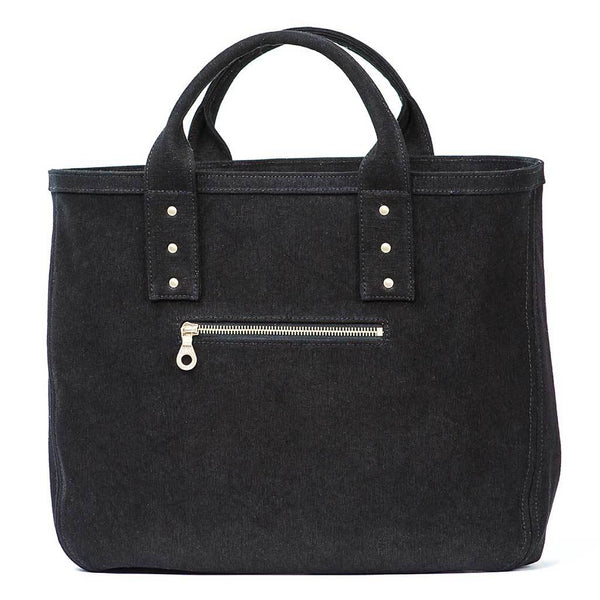 Steiner - Luxury - Vegan - Handbags - CrueltyFree - Black - Tote Bags