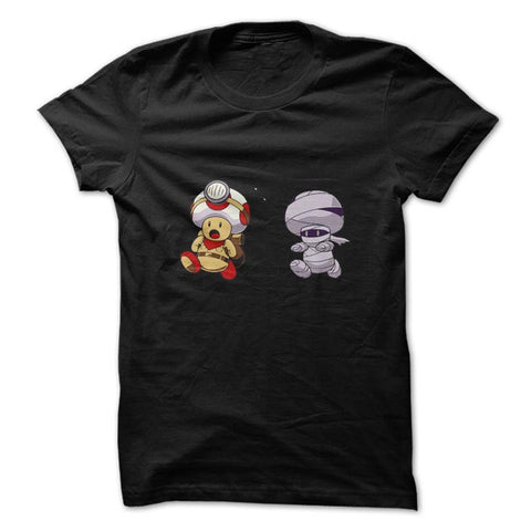 Camiseta Super Mario - Captain Toad Mummy  - Camisetas Net - 1